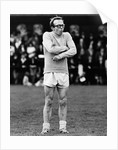 Nobby Stiles refereeing a charity match at Oswestry by Staff