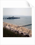 The pier at Bournemouth as seen from the East Cliffs by Library
