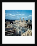 An aerial view of All Souls College by Staff