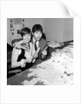 Cliff Richard and Cilla Black counting votes for Britain's song for Eurovision contest by Waters