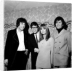 "Disc and Music echo ""Valentine's day award"" Cliff Richard with Twiggy and members of Monkees by Staff"
