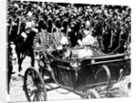 Procession through London for the Coronation of George V and Queen Mary by Staff