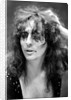 Alice Cooper with his pet boa constrictor by Staff