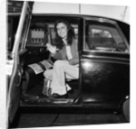 Alice Cooper arrives in London 1974 by Staff