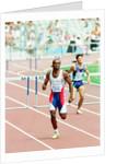 Kriss Akabusi, 1992 Olympic Games by Albert Cooper