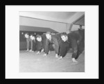 Denis Law training with his Huddersfield teammates by Andrew Varley