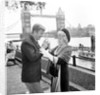 Michael Caine and Shelley Winters filming Alfie by Anonymous