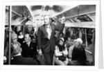 Michael Caine travelling on the underground by Alisdair MacDonald