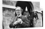 Michael Caine launches the 1987 Poppy Appeal by Ken Lennox