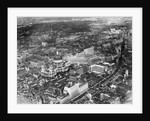 An aerial view of London showing St Pauls Cathedral by Anonymous