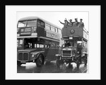 Ole Bill, a London bus from around 1914 by Staff
