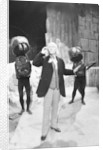 William Hartnell, the first Doctor, during rehearsals at Television Centre by Anonymous