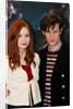 The new Dr Who, Matt Smith, and his sidekick Karen Gillan by NCJ