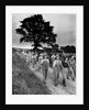 Land girls on their way home from the field by George Greenwell