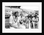 Ian Botham and David Gower by Anonymous