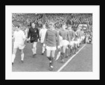 Real Madrid and Manchester United take to the field by Staff