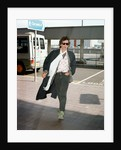 Rolling Stones: Keith Richards at London Heathrow Airport by Victor Crawshaw