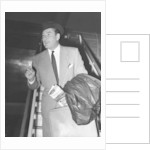 Errol Flynn arriving at London Airport 17th November 1953 by Anonymous
