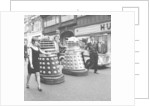 The Daleks come to Bond Street by Anonymous