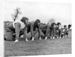 West Ham players get in a spot of training by Staff