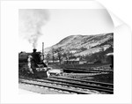 Steam train leaves Blair Atholl by Staff