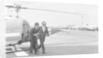 Frank Sinatra arriving at Heathrow Airport by Anonymous