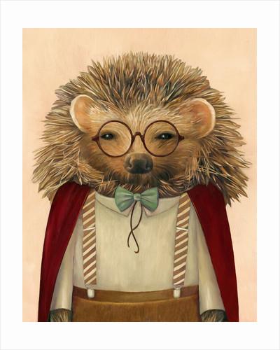 Hedgehog Art Print by Animal Crew