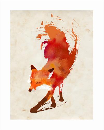 Vulpes Vulpes Art Print by Robert Farkas