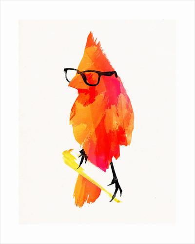 Punk Bird Art Print by Robert Farkas