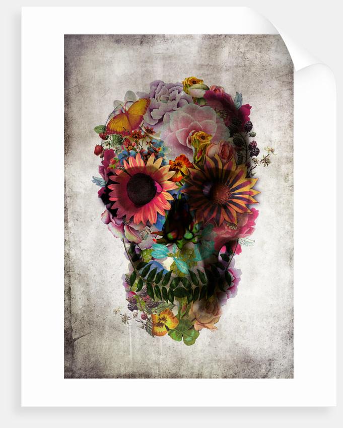 Skull Art Print by Ali Gulec