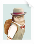 Owl Art Print by Animal Crew
