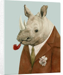Rhino Art Print by Animal Crew