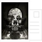 Room Skull B&W Art Print by Ali Gulec