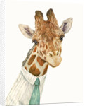 Male Giraffe Art Print by Animal Crew