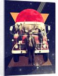 El Camion Art Print by Ali Gulec