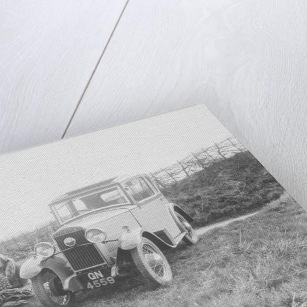 1931 Triumph Scorpion 2-door saloon by Anonymous