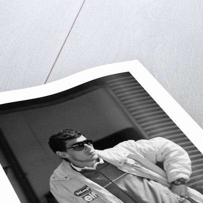 Ayrton Senna by Anonymous