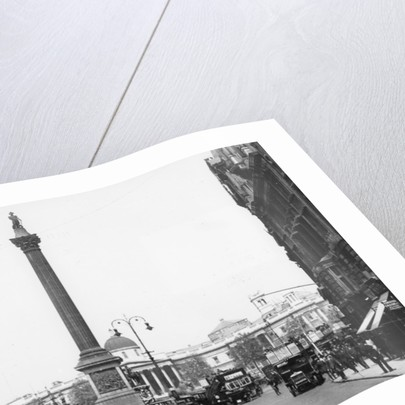 Nelson's Column, Trafalgar Square, London, 1920 by Unknown