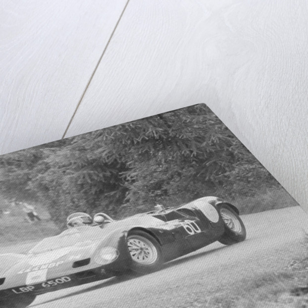 John Barnes in the Wiscombe Hill Climb by Anonymous