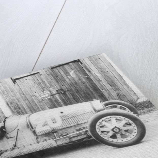 George Eyston in a 1927 Bugatti Type 35B by Anonymous
