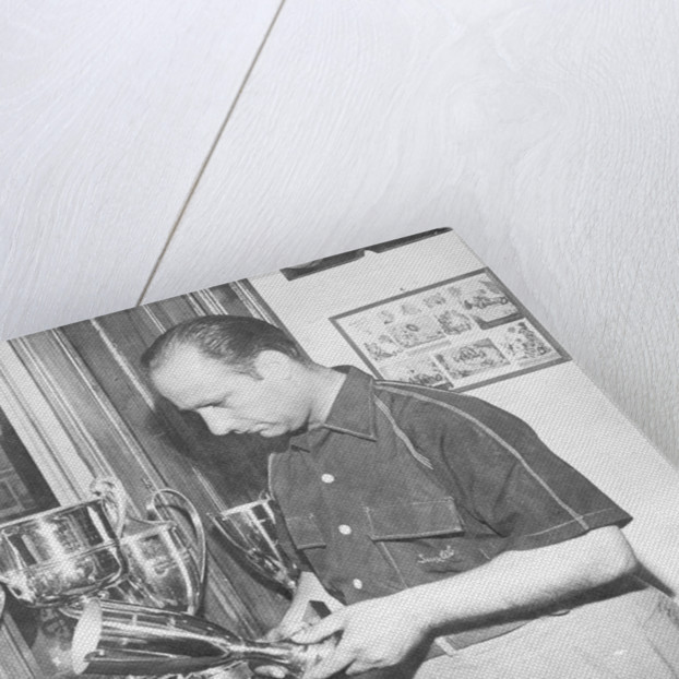 Juan Manuel Fangio by Anonymous