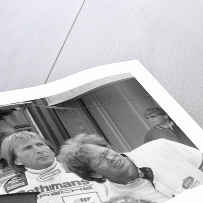 Derek Bell, Group C1 Sportscar driver by Anonymous