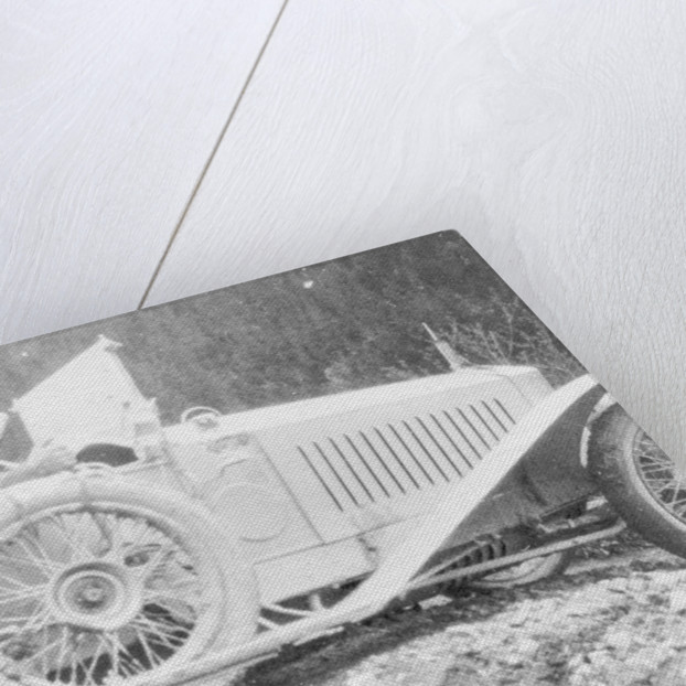 Rolls-Royce Silver Ghost in the Alpine Trial by Anonymous