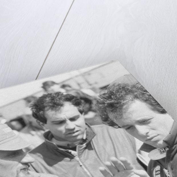 Cesare Fiorio and Mauro Baldi by Anonymous