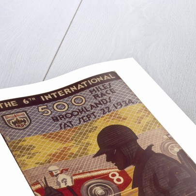 A programme for the Brooklands 500 miles race by Anonymous