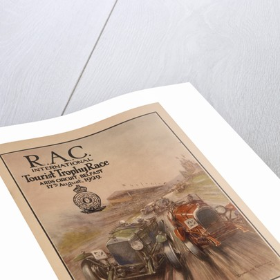 A programme for the RAC International Tourist Trophy Race by Anonymous