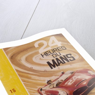 A programme advertising Le Mans 24 Hours by G Leygnac