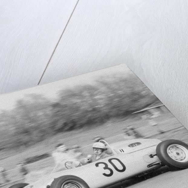 Jo Bonnier driving a works Porsche Formula 1 car, Brussels Grand Prix, Belgium, 1961 by Unknown