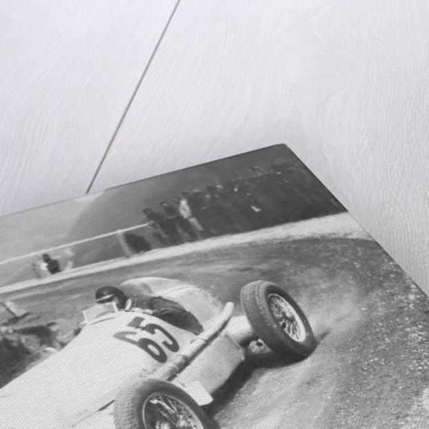 Rudolf Caracciola driving Mercedes-Benz W25 Grand Prix car by Anonymous