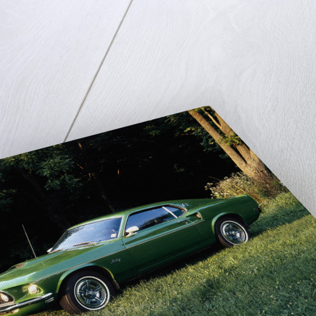 A 1969 Ford Mustang Sportsroof by Unknown